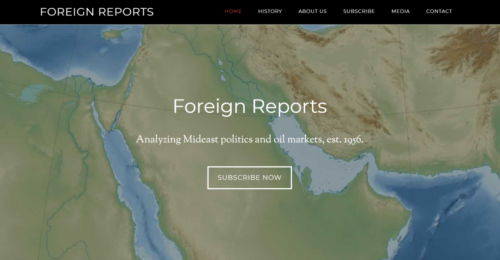 Example of News website by RocklandWeb | Foreign Reports