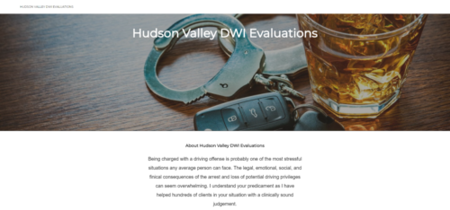 Example of Social website by RocklandWeb | HudsonValley DWI evaluation