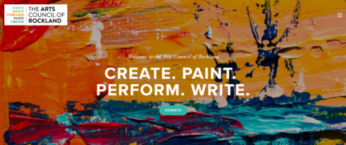 Example of Education website by RocklandWeb | The Arts Council of Rockland