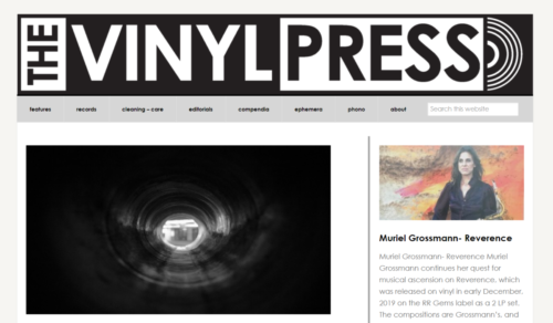 Example of News website by RocklandWeb | The Vinyl Press