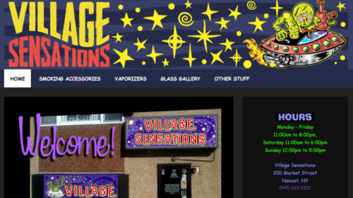 Example of Business website by RocklandWeb | Village Sensations
