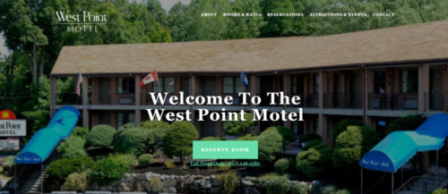 Example of Business website by RocklandWeb | West point motel